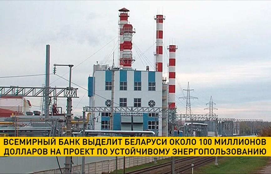 Всемирный банк выделит Беларуси около $100 млн на проект по устойчивому энергопользованию
