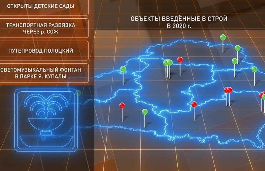 Какие новые объекты появились в Беларуси этим летом?