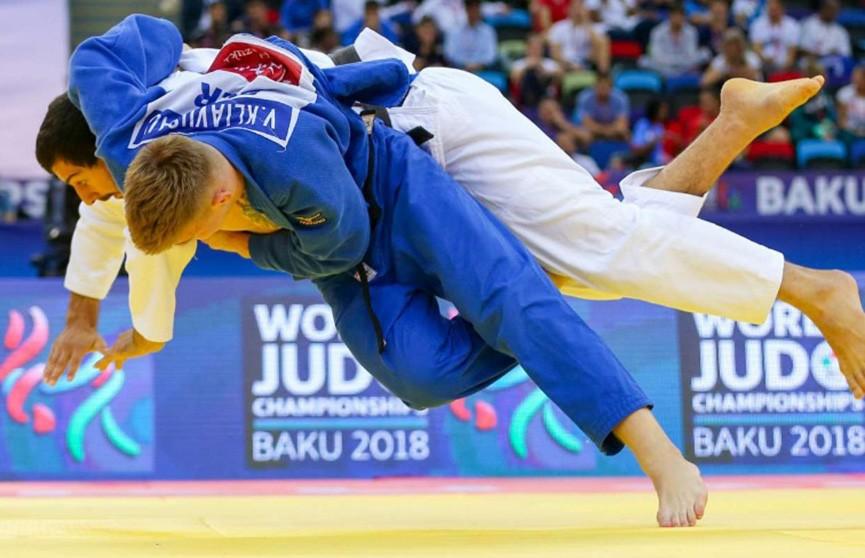 Белорусские борцы продолжают выступление на чемпионате мира по дзюдо в Баку