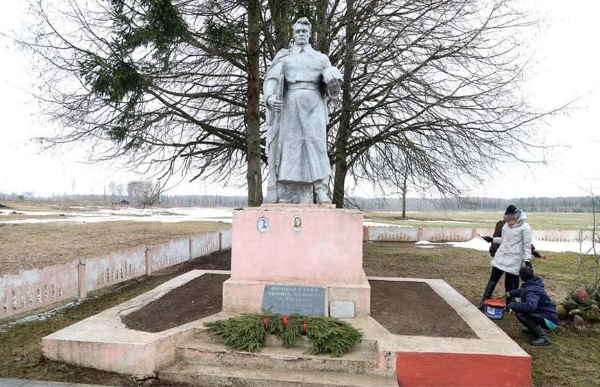 «Мы помним»: продолжается республиканская акция по благоустройству памятников Великой Отечественной войны