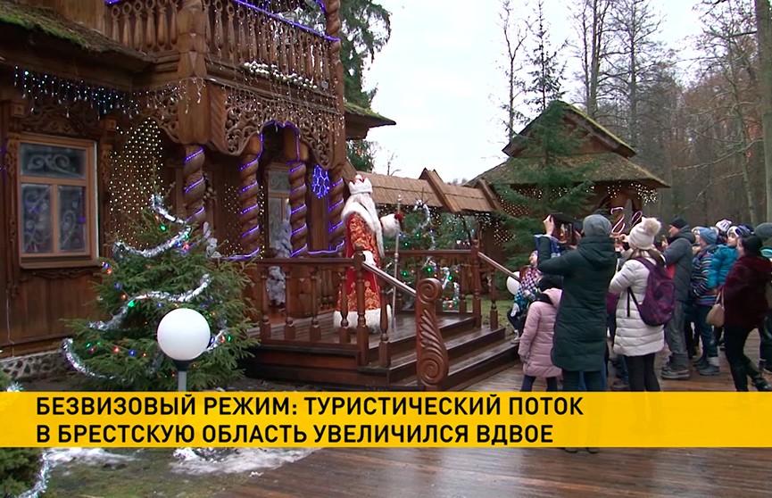 Вдвое увеличился поток туристов в Брестскую область благодаря безвизовому режиму