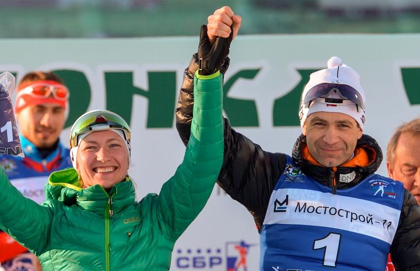Домрачева и Бьорндален примут участие в  «Рождественской гонке»: конкуренцию им составят 9 суперзвёздных пар