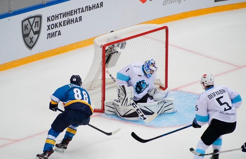 Минское «Динамо» потерпело третье поражение подряд в новом сезоне КХЛ