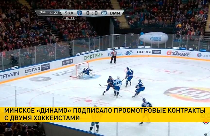 «Динамо» усиливает состав перед сезоном КХЛ
