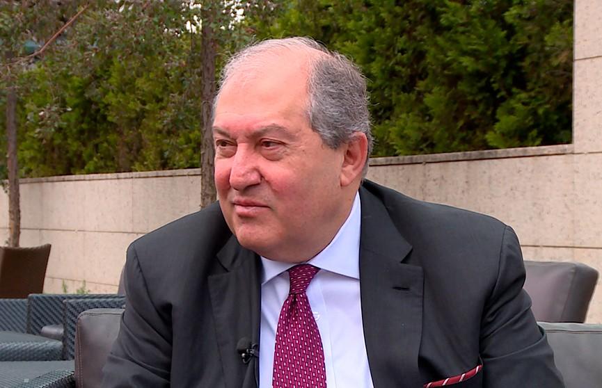 Игры: политические и не только. Интервью с президентом Армении Арменом Саркисяном