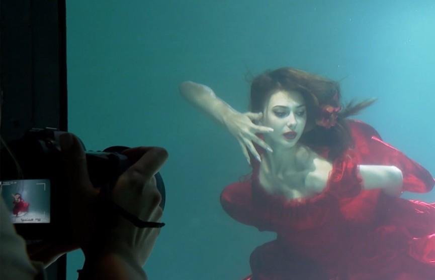 Дневник «Мисс Беларусь». Такого еще не было! Фотосессия под водой