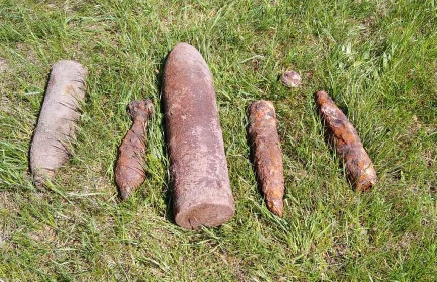 Арсенал боеприпасов нашли недалеко от канала Огинского