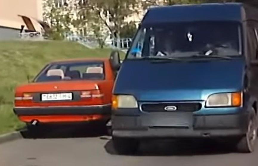 Нетрезвый бомж угнал машину и разъезжал по Гродно