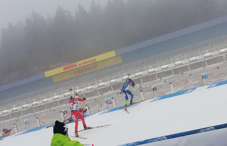 Ирина Кривко стала седьмой на этапе Кубка мира по биатлону