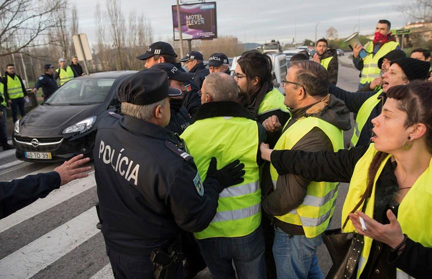 Теперь и в Португалии: «жёлтые жилеты» протестуют в Лиссабоне и других городах
