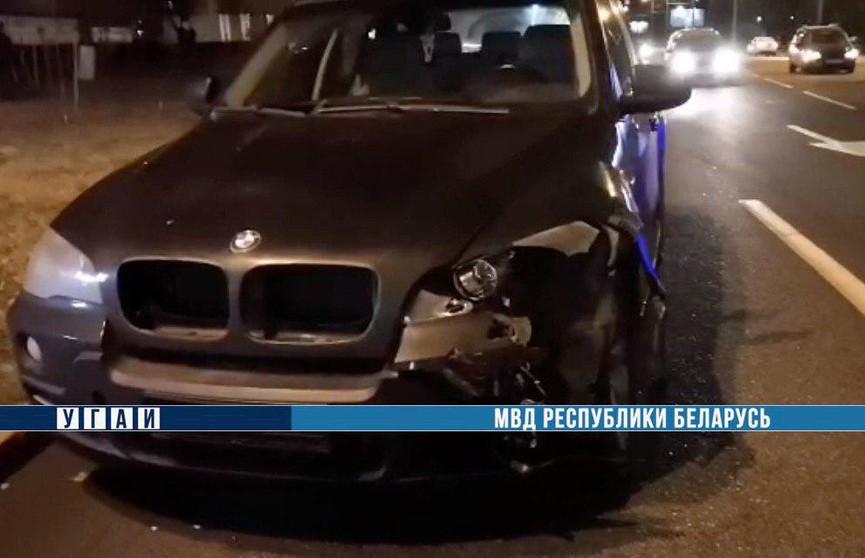ДТП с участием четырёх автомобилей парализовало движение на проспекте Речицком в Гомеле