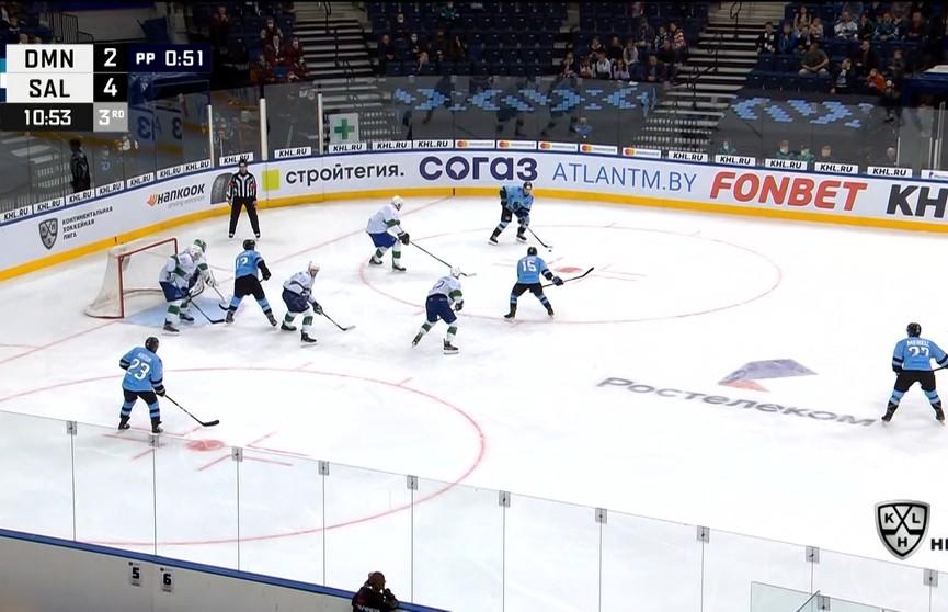 Хоккеисты минского «Динамо» начинают выездную серию в чемпионате КХЛ