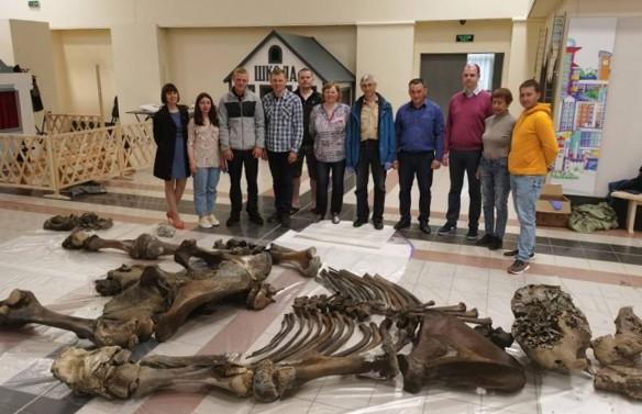 В Сибири найден скелет 20-летнего мамонта