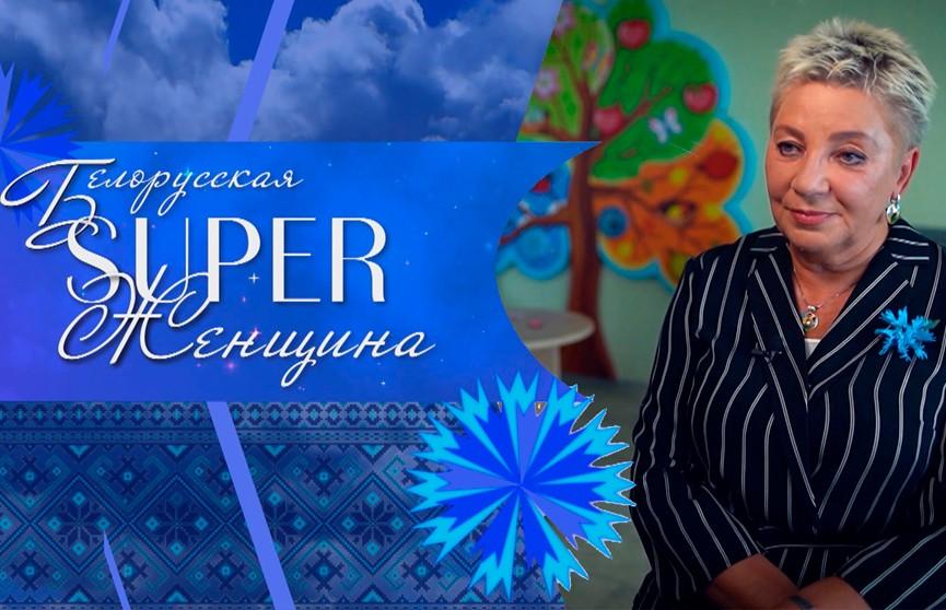 Директор гимназии №1 им. Ф. Скорины г. Минска Наталия Бушная. Проект «Белорусская SUPER-женщина»