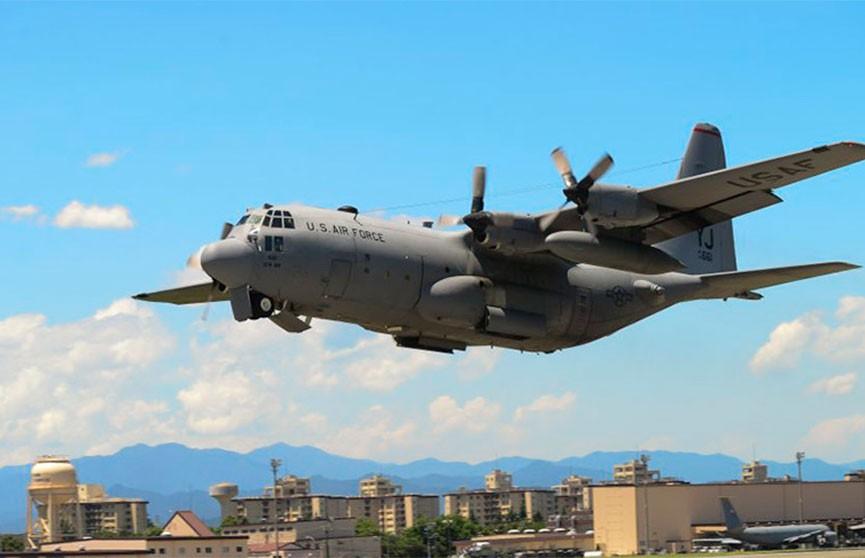 Самолет ВВС США потерпел крушение в Ираке