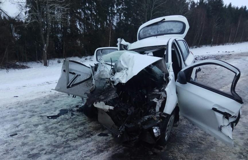 Легковушка столкнулась с грузовиком в Столбцовском районе: водитель и его жена погибли