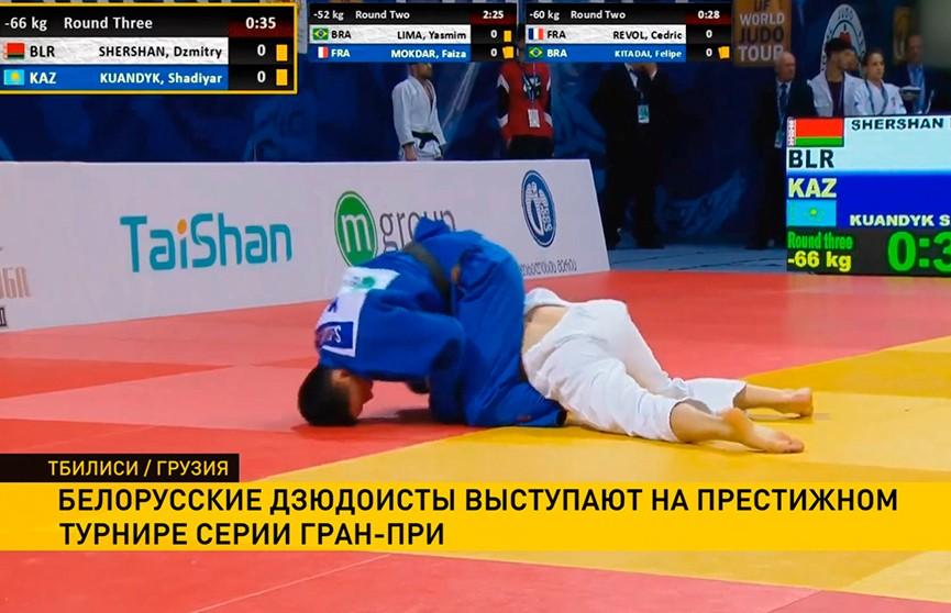 Белорусские спортсмены участвуют в  международном турнире по дзюдо в Тбилиси
