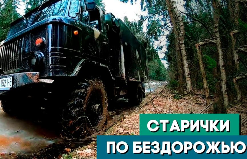 Энтузиаст собрал военный автопарк времён СССР. Тест-драйв брутальной коллекции по бездорожью