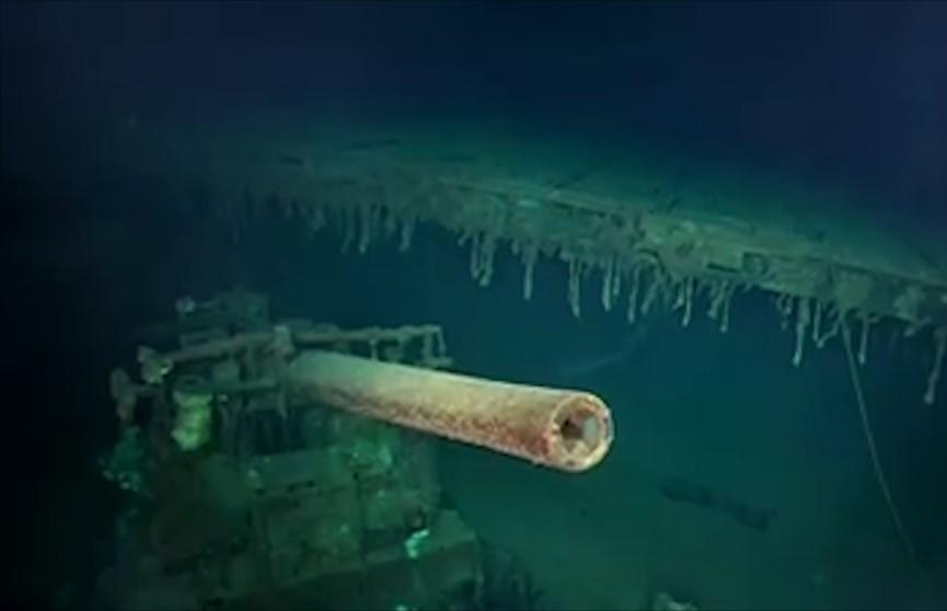 Корабль времён Второй мировой войны обнаружили на дне Тихого океана