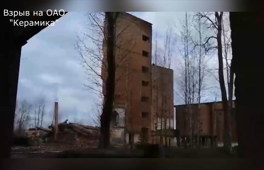 Витебские спасатели сложили 15-метровое здание как карточный домик