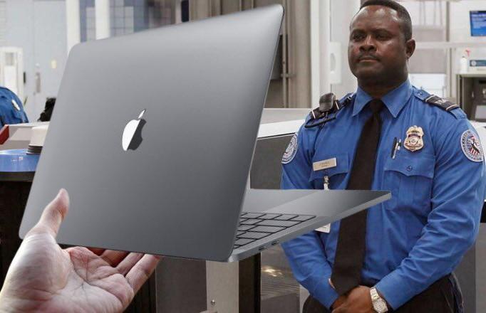 Некоторые модели MacBook Pro запретили провозить в самолёте