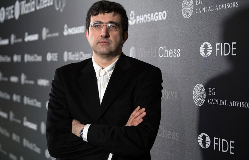 Гроссмейстер Владимир Крамник объявил о завершении карьеры