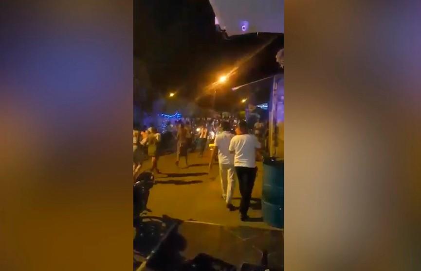 Взрыв в ночном клубе Колумбии в разгар праздника