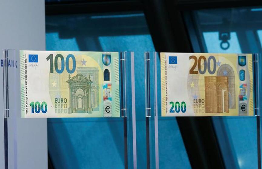 Европейский центробанк презентовал обновлённые купюры 100 и 200 евро