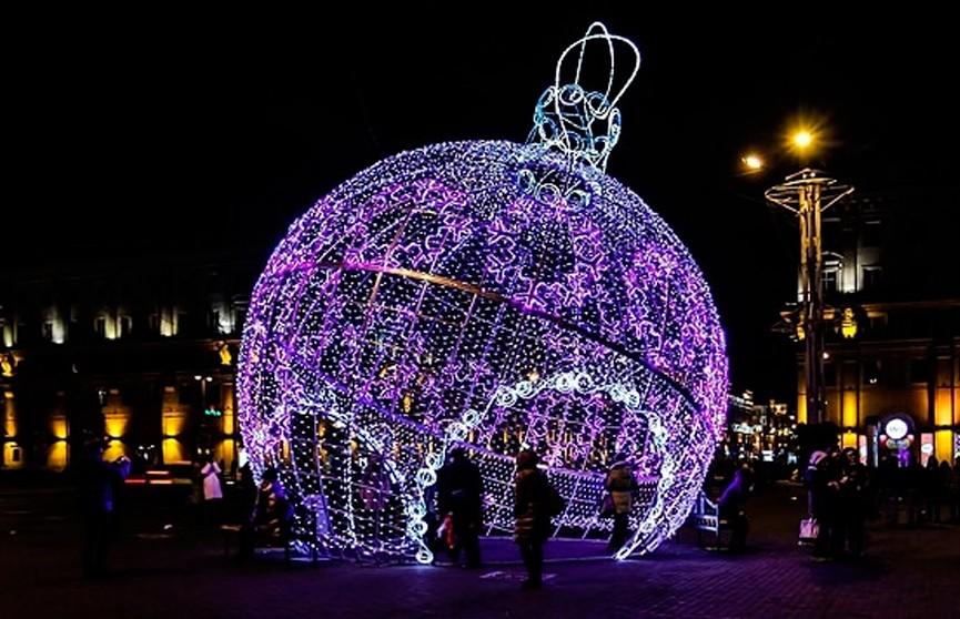 Минск начинает подготовку к Новому году