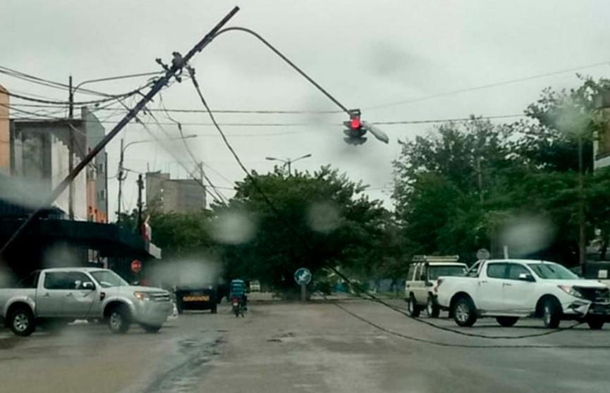 Тропический циклон обрушился на Мозамбик