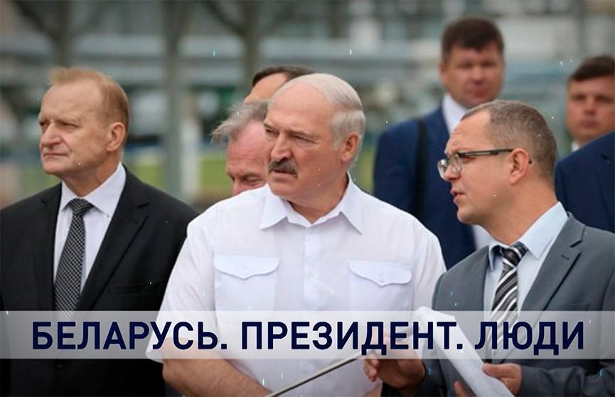 Ход уборочной, новые разработки и деревня будущего: что продемонстрировали Лукашенко во время поездки в Тихиничи