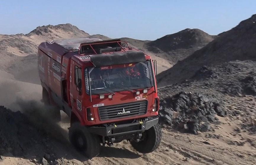 «МАЗ-СПОРТавто» занял второе место на третьем этапе ралли «Дакар»