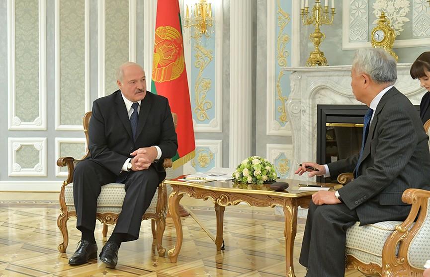 Беларусь готова выстраивать образцовые отношения: Лукашенко встретился с главой Азиатского банка инфраструктурных инвестиций