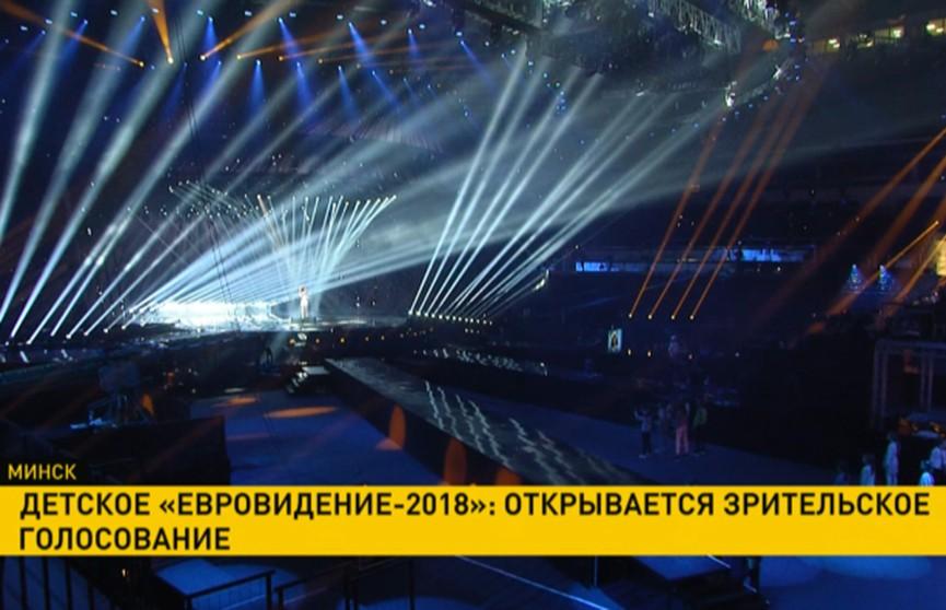 Детское «Евровидение-2018»: открывается зрительское голосование