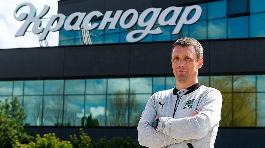 Футболисты «Краснодара» одержали первую победу под руководством белорусского тренера Виктора Гончаренко