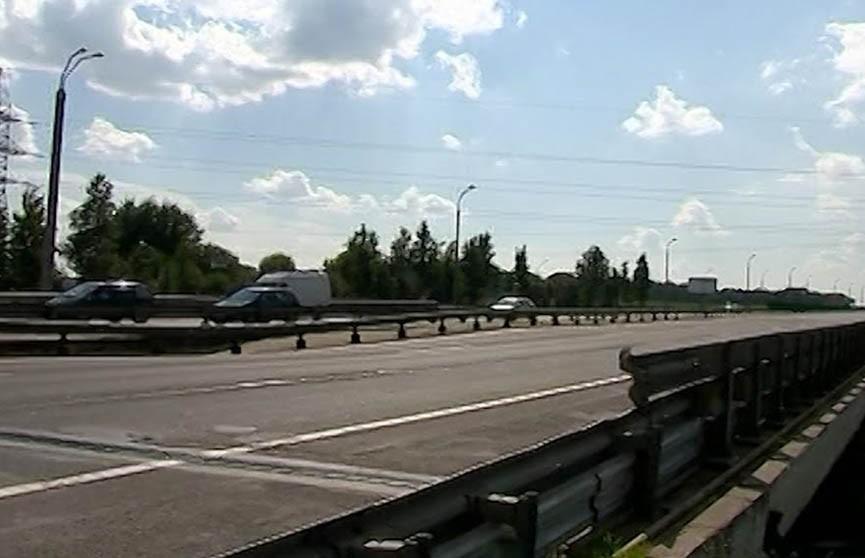 Аварийный участок МКАД в районе Лошицы полностью закрыт
