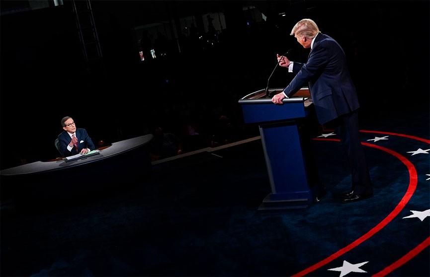 Штаб Трампа согласился на проведение дебатов с Байденом 22 октября