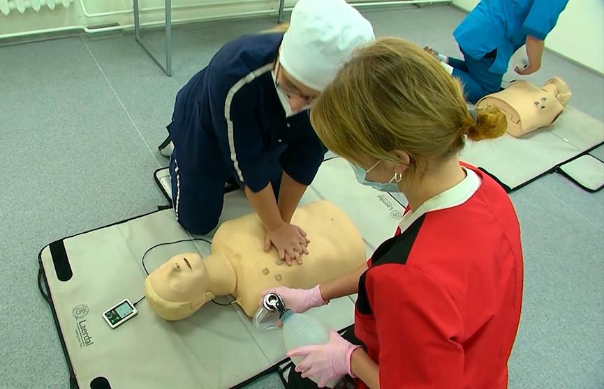 В Витебске отрылся специализированный центр, где будущих медиков обучают действовать в экстренных ситуациях