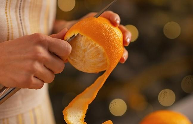 Чем полезна апельсиновая кожура?