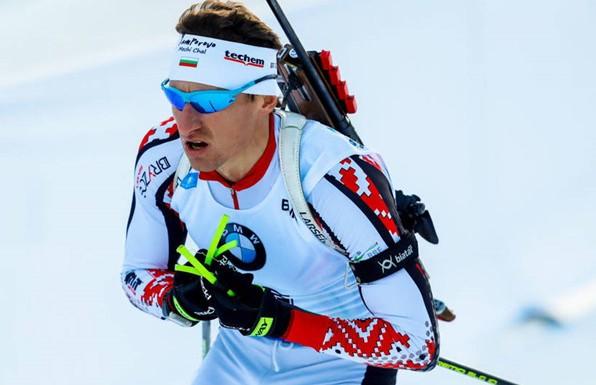 Болгарин Красимир Анев выиграл первую гонку чемпионата Европы по биатлону в Раубичах