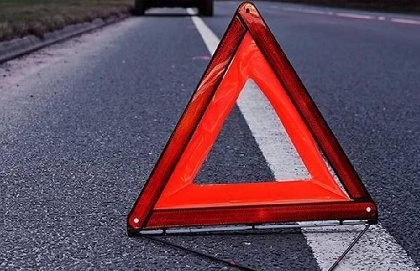 Из-за аварии движение на МКАД затруднено
