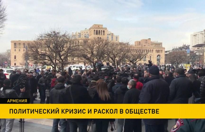 В Армении общество раскололось на сторонников и противников Никола Пашиняна