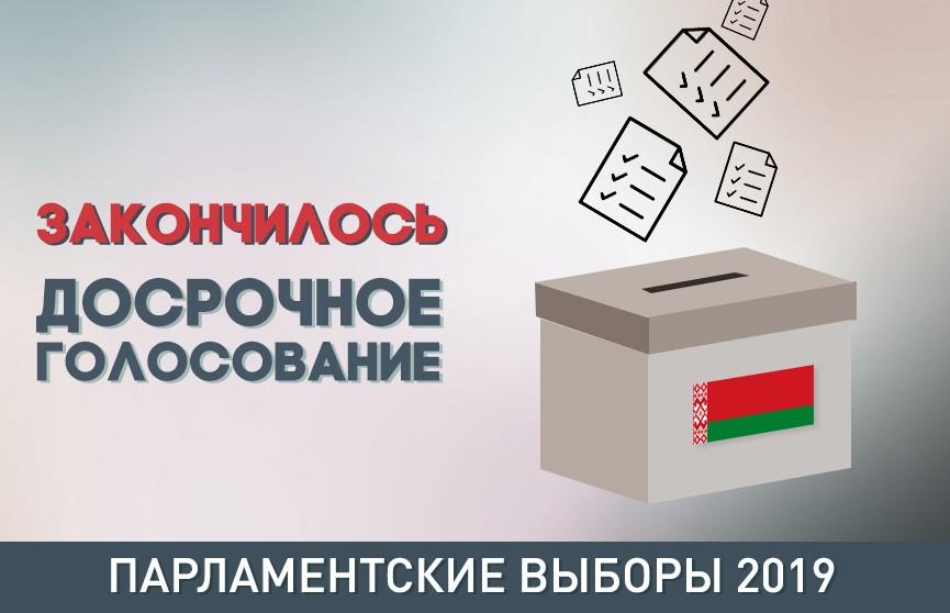 Досрочное голосование на выборах в Палату представителей завершено. Явка составила 35,77%