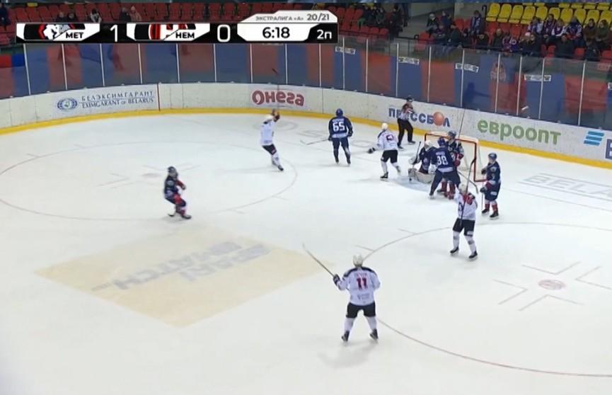«Гомель» сравнялся по очкам с «Юностью» в таблице чемпионата Беларуси по хоккею