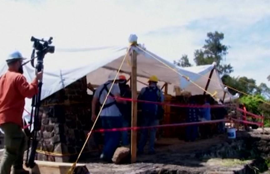 Основание древней пирамиды обнаружили в Мексике после землетрясения