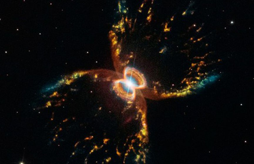 NASA показало впечатляющее фото телескопа Hubble (Видео)
