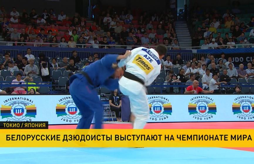 Белорус Вадим Шока уступил победу во второй предварительной схватке в чемпионате мира по дзюдо