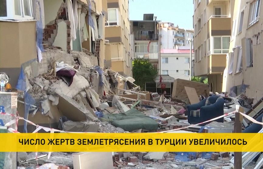 Землетрясение в Турции: число жертв увеличилось до 114