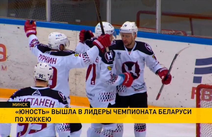 Чемпионат Беларуси по хоккею: «Юность» переиграла «Неман»