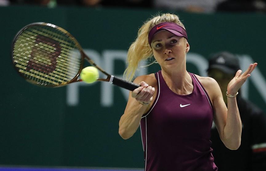 Украинка Элина Свитолина стала победительницей главного итогового турнира Женской теннисной ассоциации